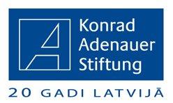 20_gadi_latvija_Konrad_Adenauer_LOGO